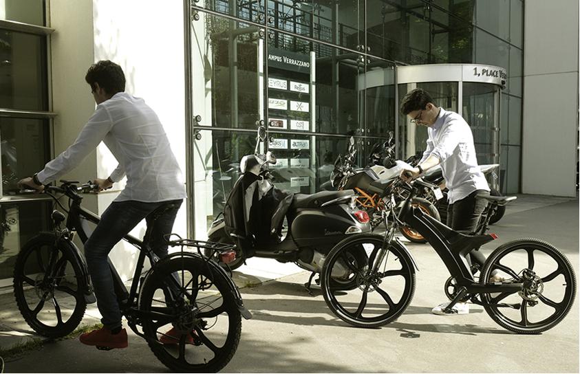 solutions de vélos électriques pour les entreprises